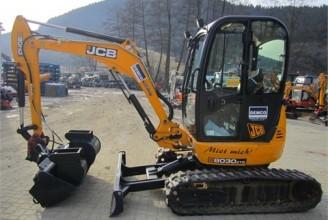 JCB 8030 ZTS Мини-экскаватор