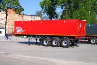Mega 60 м3 AL Полуприцеп самосвальный