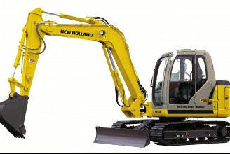NEW HOLLAND E80 Мини-экскаватор