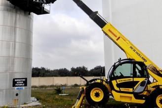 NEW HOLLAND LM1745 Телескопический погрузчик