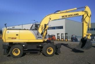 NEW HOLLAND MH6.6 Колесный экскаватор