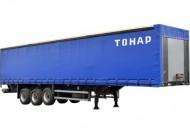 Тонар-97461-0000040-50 Тентовый полуприцеп