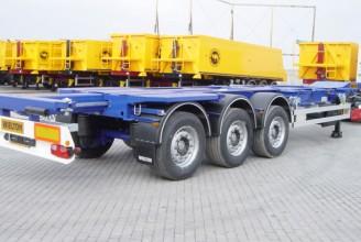 Wielton NS 3 P45 R1 M2 (NS 34 PT /45/R1 M/2) Полуприцеп контейнеровоз раздвижной