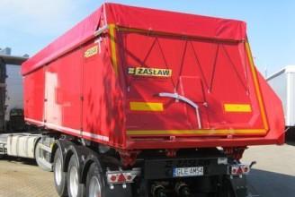 Zaslaw 32,3м3 (алюминиевый) Полуприцеп самосвальный