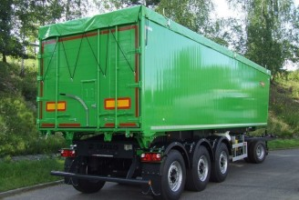 Zaslaw 47,5м3 (алюминиевый) Полуприцеп самосвальный