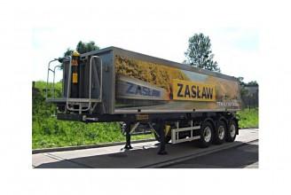 Zaslaw 51м3 (алюминиевый) Полуприцеп самосвальный