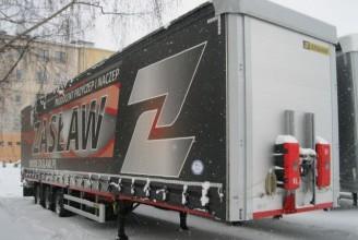 Zaslaw 93м3 Шторный полуприцеп