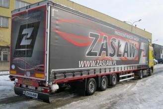 Zaslaw 99м3 МЕГА-шторный полуприцеп